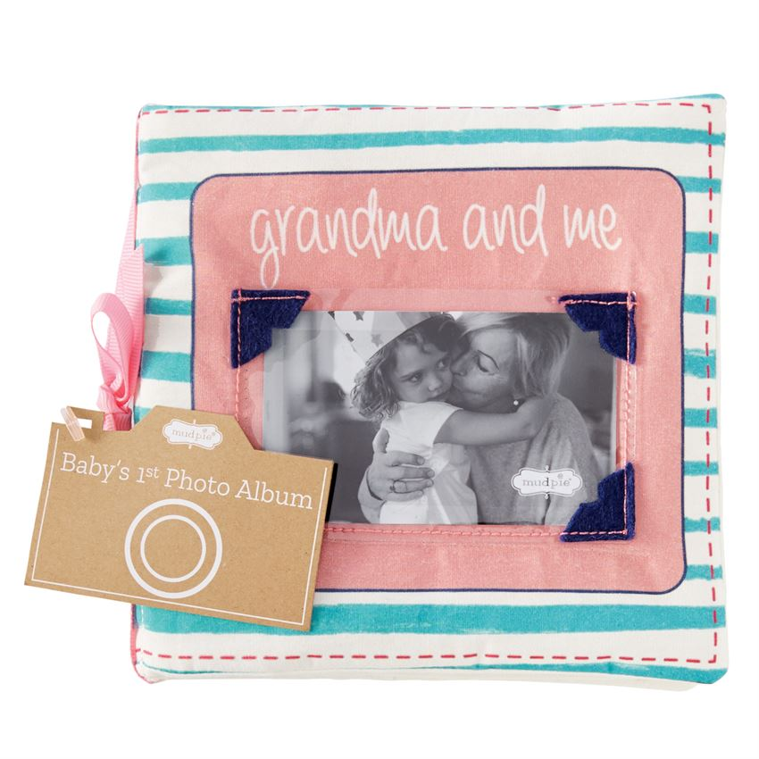 Grandma and Me Fabric Photo Book