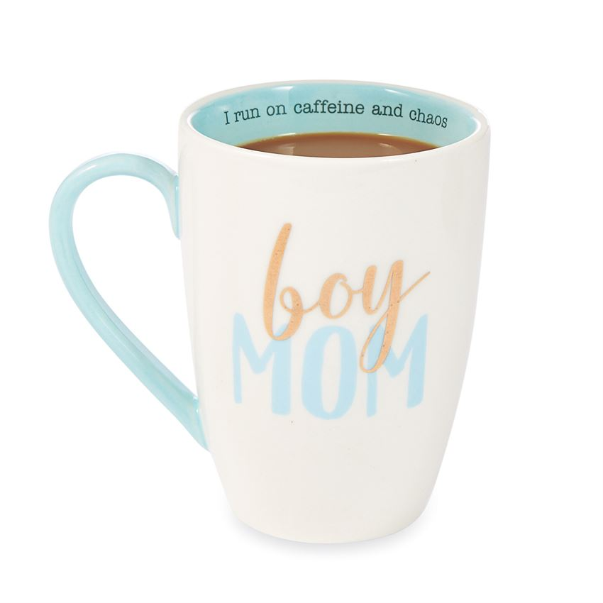 "Mud Pie ""Boy Mom"" Mug"