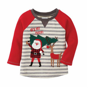 Load image into Gallery viewer, Santa Reindeer Tee