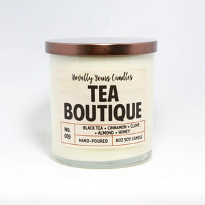 Novelly Yours Candles Tea Boutique