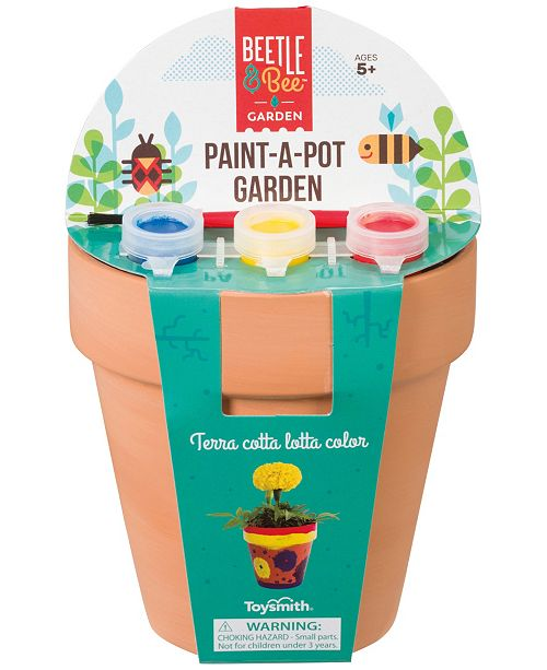 Toysmith Paint-A-Pot Garden
