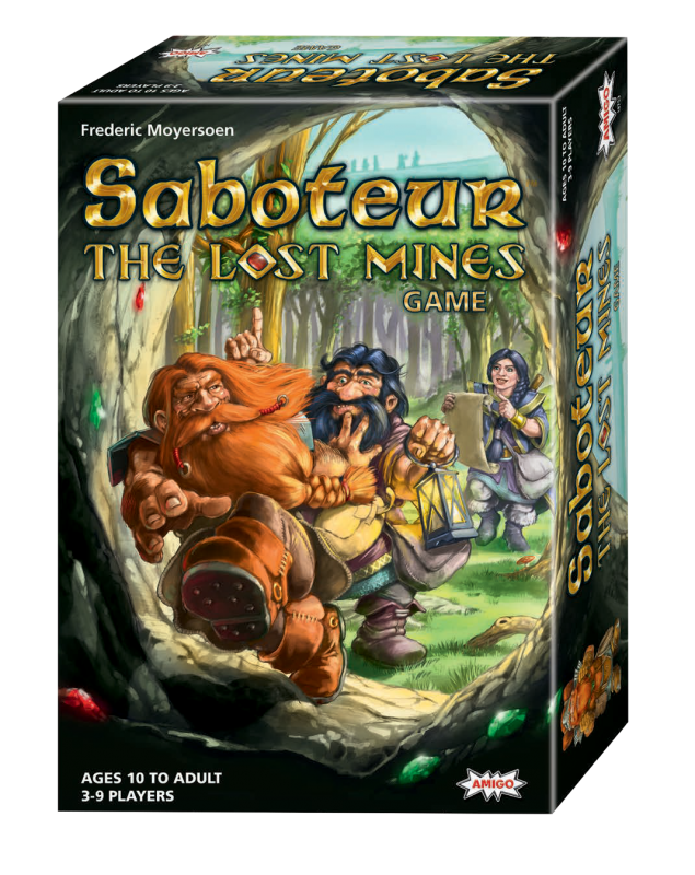 Saboteur - The Lost Mines Game