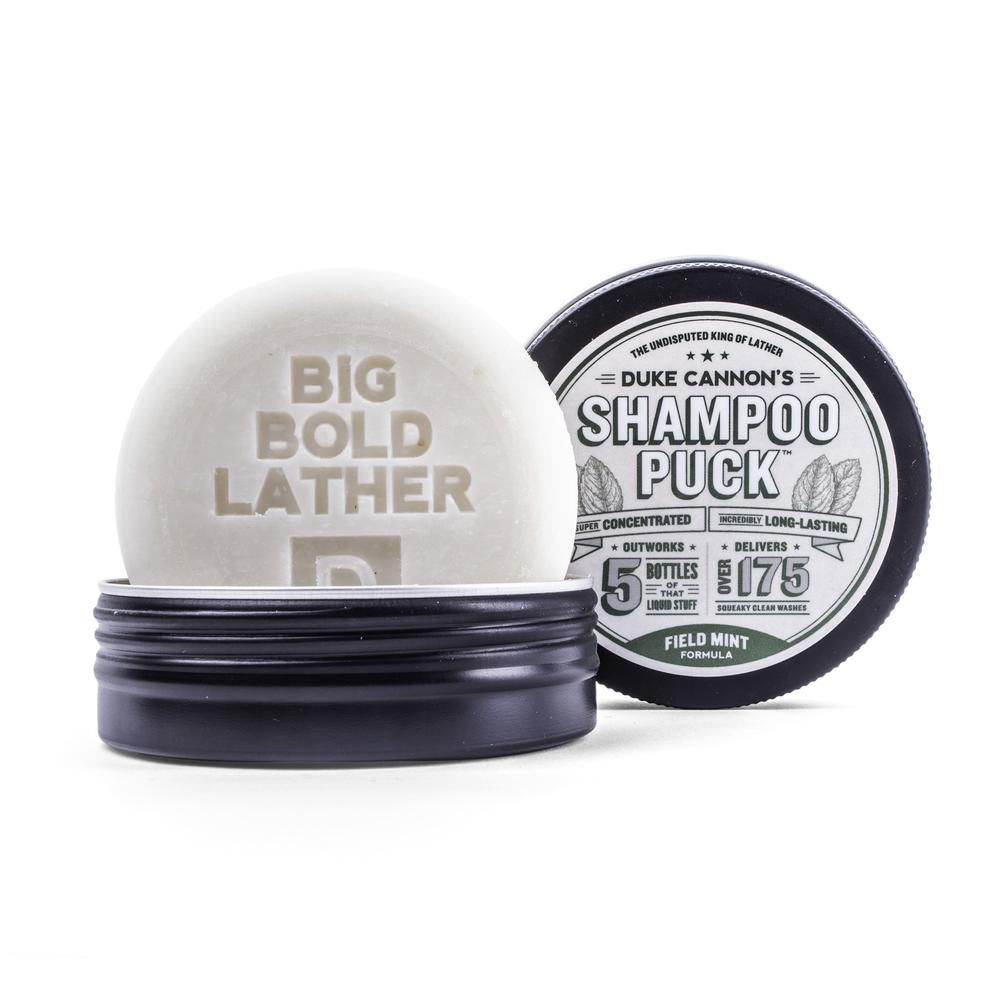 Duke Cannon Shampoo Puck - Field Mint