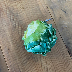 Load image into Gallery viewer, Small Green & White Cabbage Head