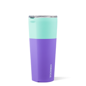 Load image into Gallery viewer, Corkcicle Mint Berry Color Block 16 or 24oz Tumbler