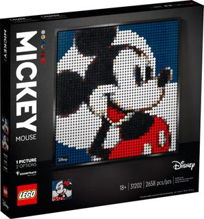 Lego Disney's Mickey Mouse Art Set