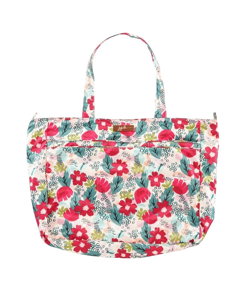 JuJuBe Super Be Large Lightweight Tote Bag - Forget Me Not