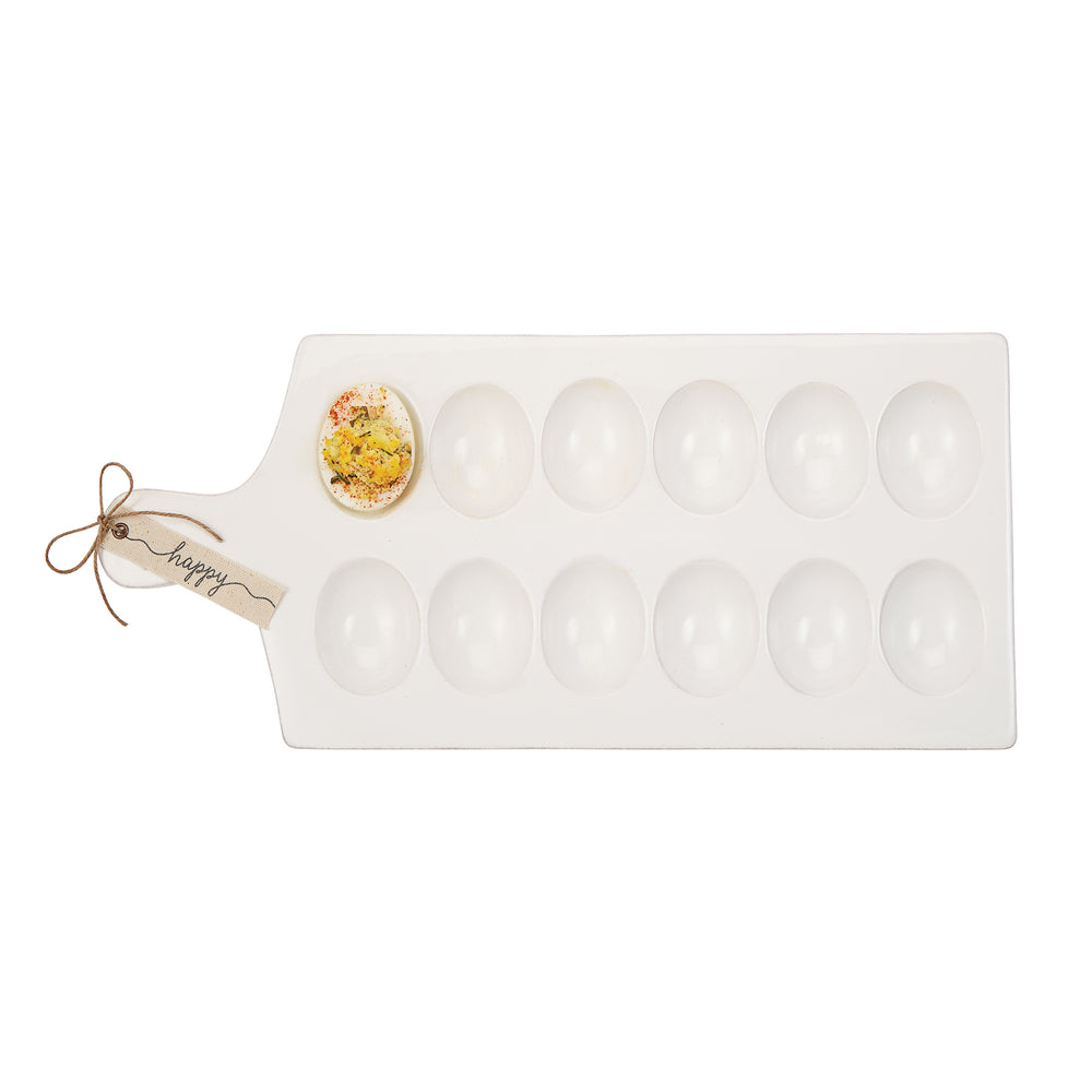 Happy Deviled Egg Tray 40700094 *Pickup only*