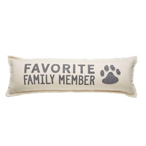 Favorite Family Member Long Pillow