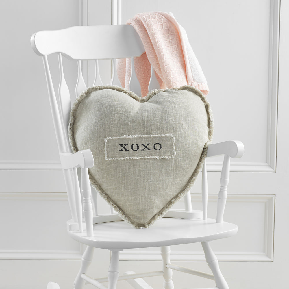 XOXO Heart Shaped Pillow 41600395