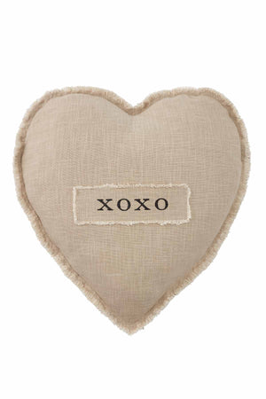 Load image into Gallery viewer, XOXO Heart Shaped Pillow 41600395