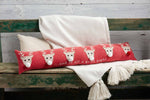 All a Good Night Skinny Pillow with Reindeer 41600432