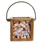 Nine To Wine Mini Wine Cork Display Box