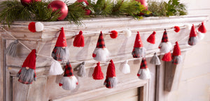 Load image into Gallery viewer, Gnome Tassel Garland 42600331T