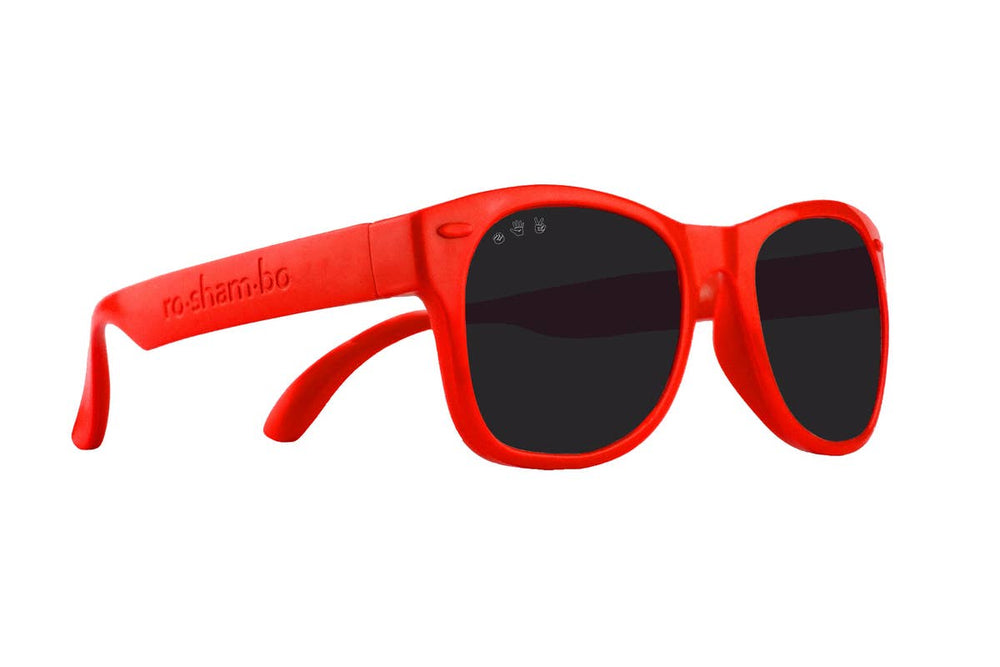 Load image into Gallery viewer, Roshambo McFly Red Toddler Sunglasses