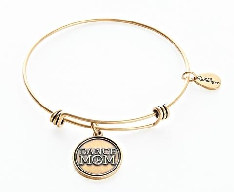 "BellaRyann ""Dance Mom"" Expandable Bangle Charm Bracelet"