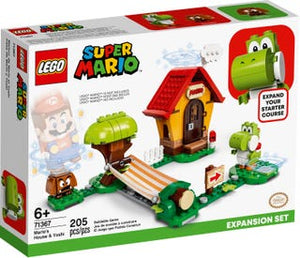 Load image into Gallery viewer, Lego 71367 Mario's House and Yoshi Expansion Set