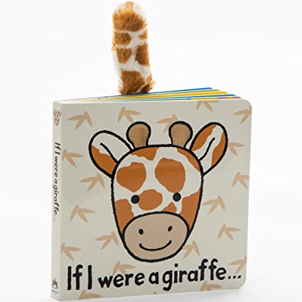 "Jellycat ""If I Were a Giraffe"" Board Book"