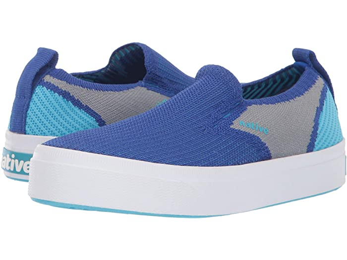 Native Shoes Miles 2.0 Liteknit in UV Blue/Pigeon Grey/Hamachi Blue