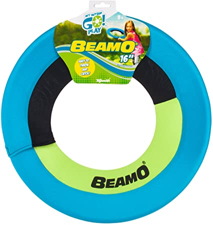 Toysmith Beamo Flying Hoop 16""