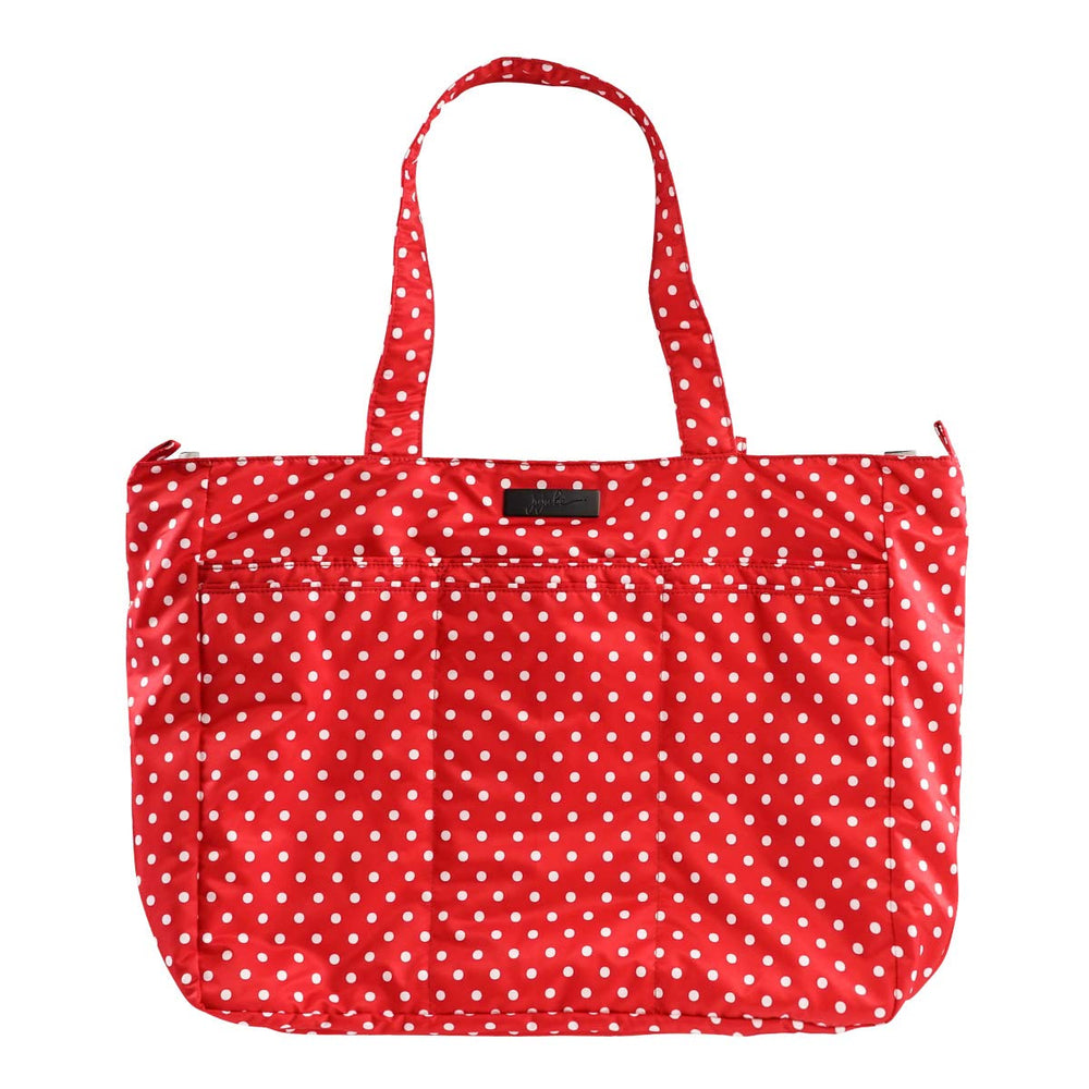 JuJuBe Super Be Large Lightweight Tote Bag - Black Ruby