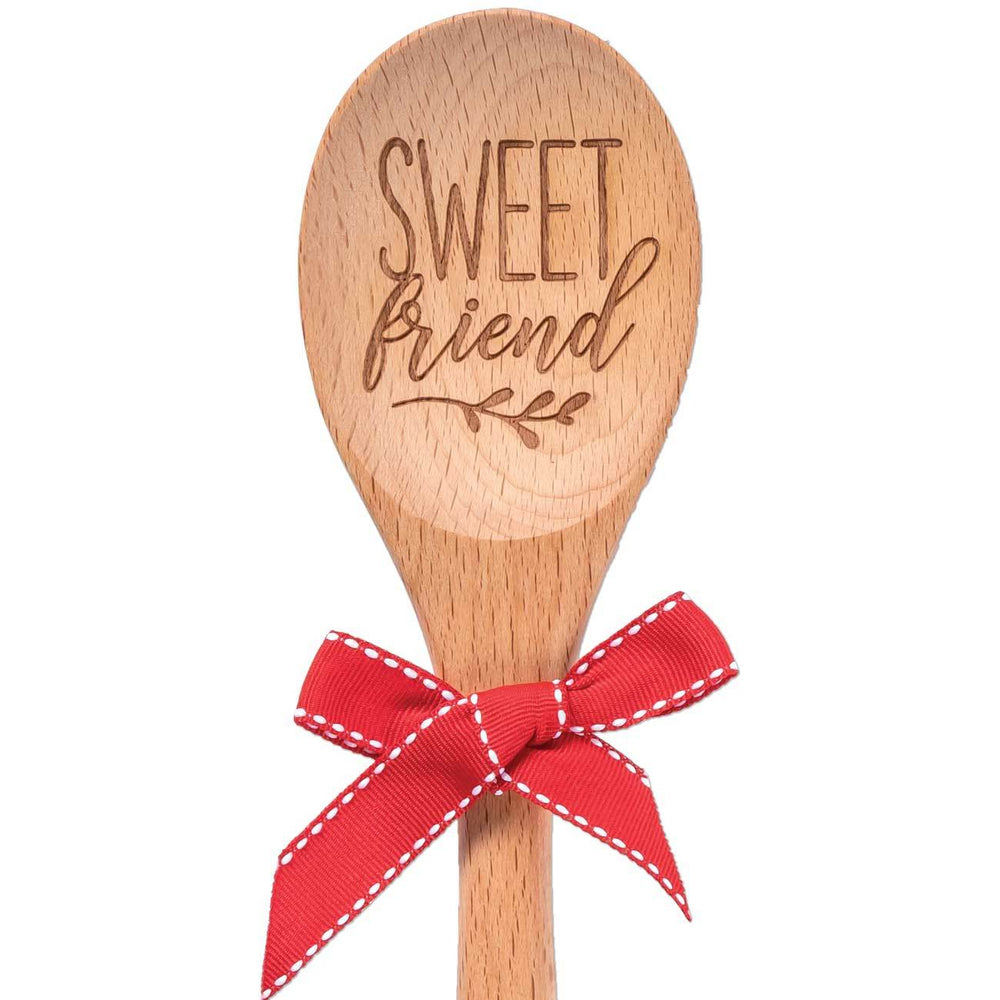 Sweet Friend Kitchen Sentiment Spoon