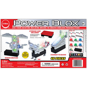 E-Blox Power Blox Standard Set - LED Light-Up Building Blocks