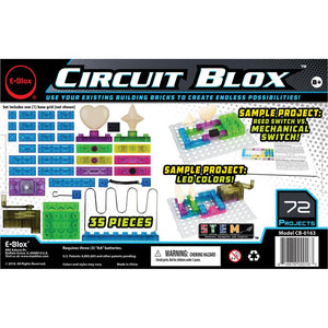 Load image into Gallery viewer, E-Blox Circuit Blox 72 - Circuit Board Building Blocks