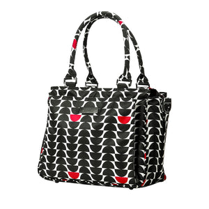 Load image into Gallery viewer, JuJuBe Be Classy Diaper/Tote Bag - Black Widow