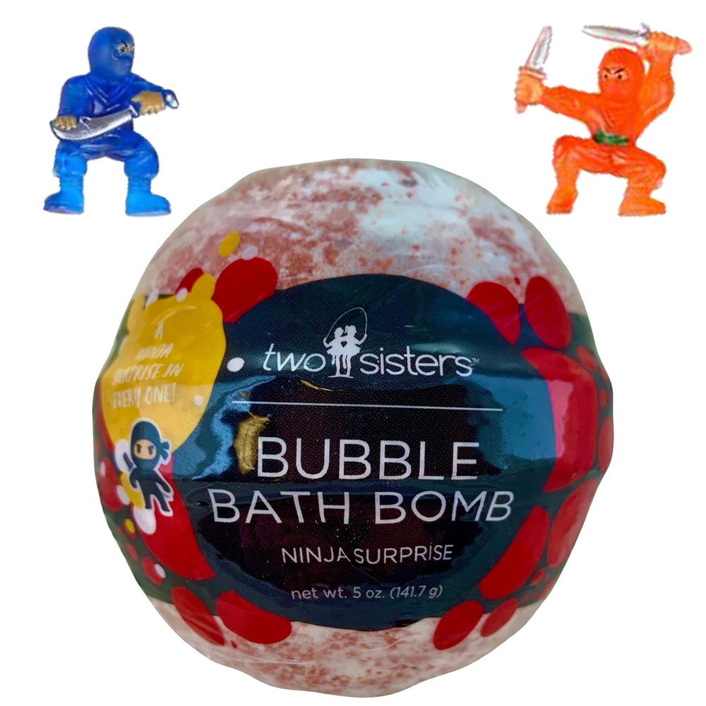 Ninja Surprise Bubble Bath Bomb