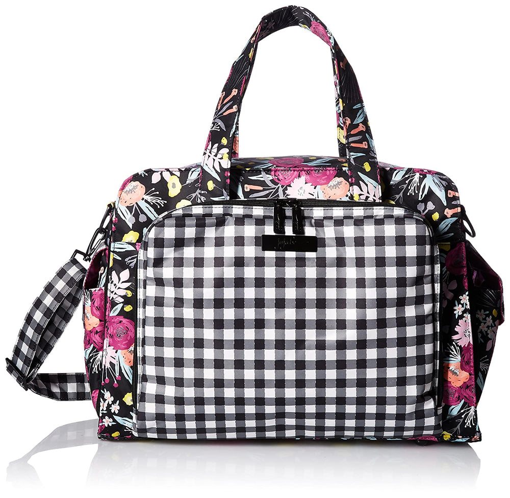JuJuBe Be Prepared Diaper/Travel Bag - Gingham Bloom