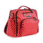 JuJuBe B.F.F. Diaper/Messenger Bag - Black Ruby