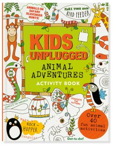 Kids Unplugged: Animal Adventures Activity Book