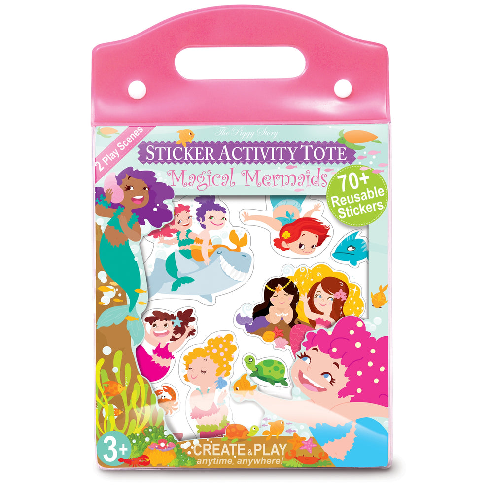 Magical Mermaids Window Sticker Activity Tote