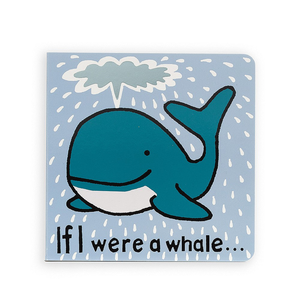 "Jellycat ""If I Were a Whale"" Board Book"