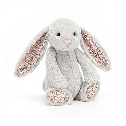 Load image into Gallery viewer, Jellycat Blossom Bunny Silver Medium