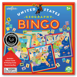 Load image into Gallery viewer, eeBoo United States Bingo