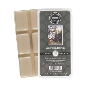 Bridgewater Scented Wax Bar Melts - Afternoon Retreat