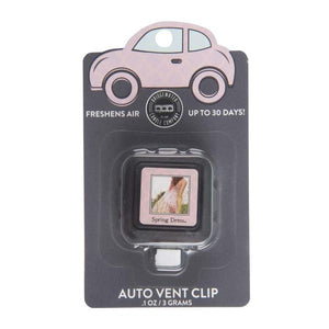 Load image into Gallery viewer, Set of 2 Bridgewater Auto Vent Clips - Spring Dress