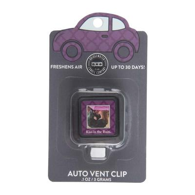 Set of 2 Bridgewater Auto Vent Clips - Kiss in the Rain