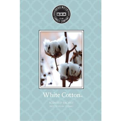 Bridgewater Scented Sachets - White Cotton