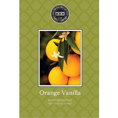 Bridgewater Scented Sachets - Orange Vanilla