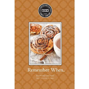 Bridgewater Scented Sachets - Remember When