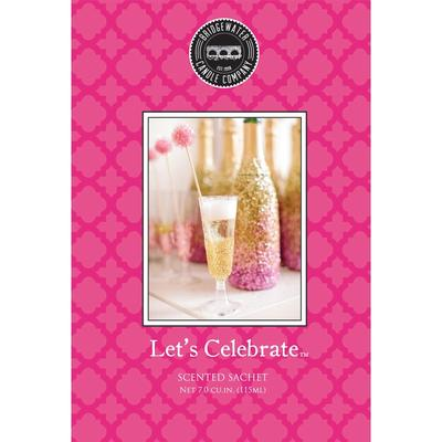 Bridgewater Scented Sachets - Let's Celebrate