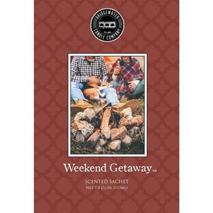Bridgewater Scented Sachets - Weekend Getaway