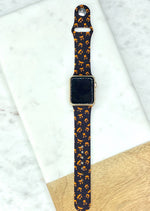 Spooky Jack-O-Lantern Printed Apple Watch Band