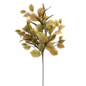 "Load image into Gallery viewer, 35"" Linden Leaf Spray F2222"