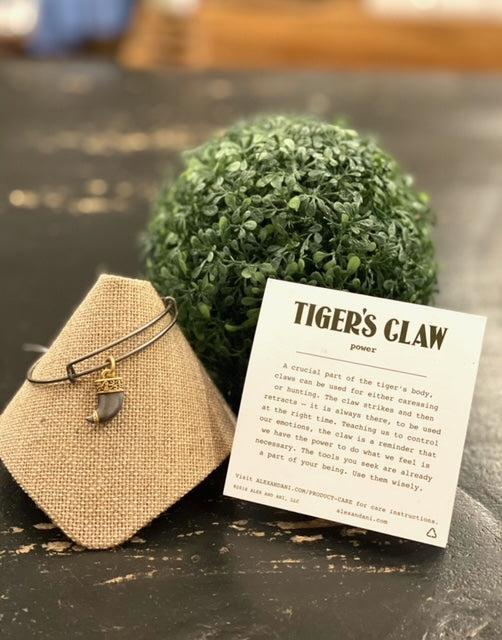Alex & Ani Tiger Claw Bangle