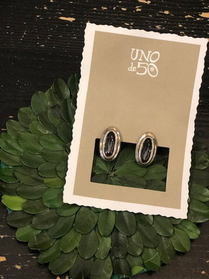 Load image into Gallery viewer, Uno de 50 The Brave Earrings