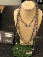 Uno de 50 Triple Me Charm Necklace